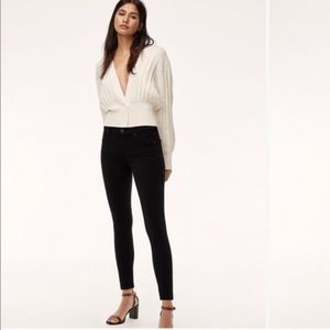 Citizens of Humanity Black Avalon Skinny Jeans 27